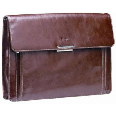 The Adpel Business Underarm Folder Includes A Padded Computer Compartment And A Magnetic Flap Closure.