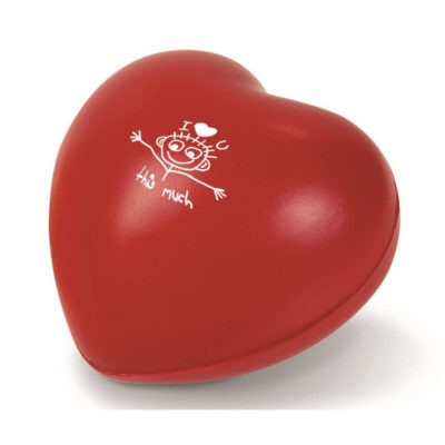 The Feel The Love Stress Ball Is Made From PU. The Ball Is Irresistibly Soft And Spongy.