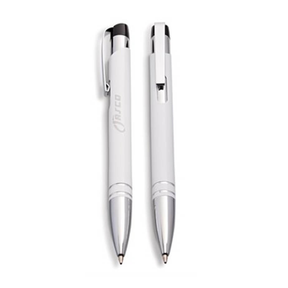 Odeon Pen Available In White