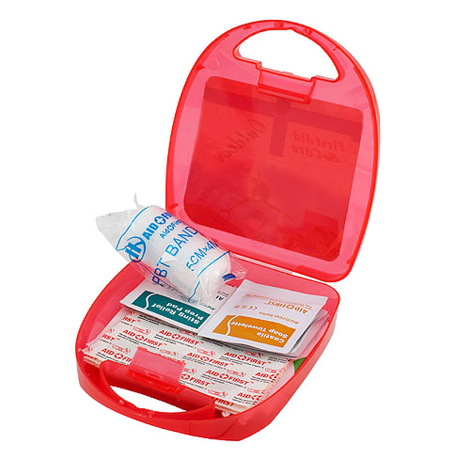 Outdoor First Aid Kit Including 22 Medical Items