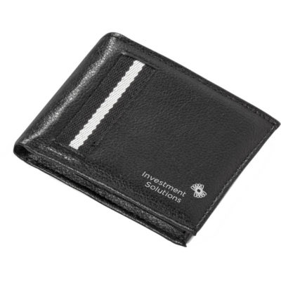 The Balmain Auvergne Wallet is made from stimulated leather. The wallet has 3 business cards/bank card holders on either side and includes a balmain presentation box.