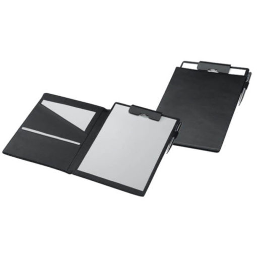 The Monte Carlo Clip Board is an A4 folder with a two fold clipboard features, made from genuine leather. With document pockets and a pen loop