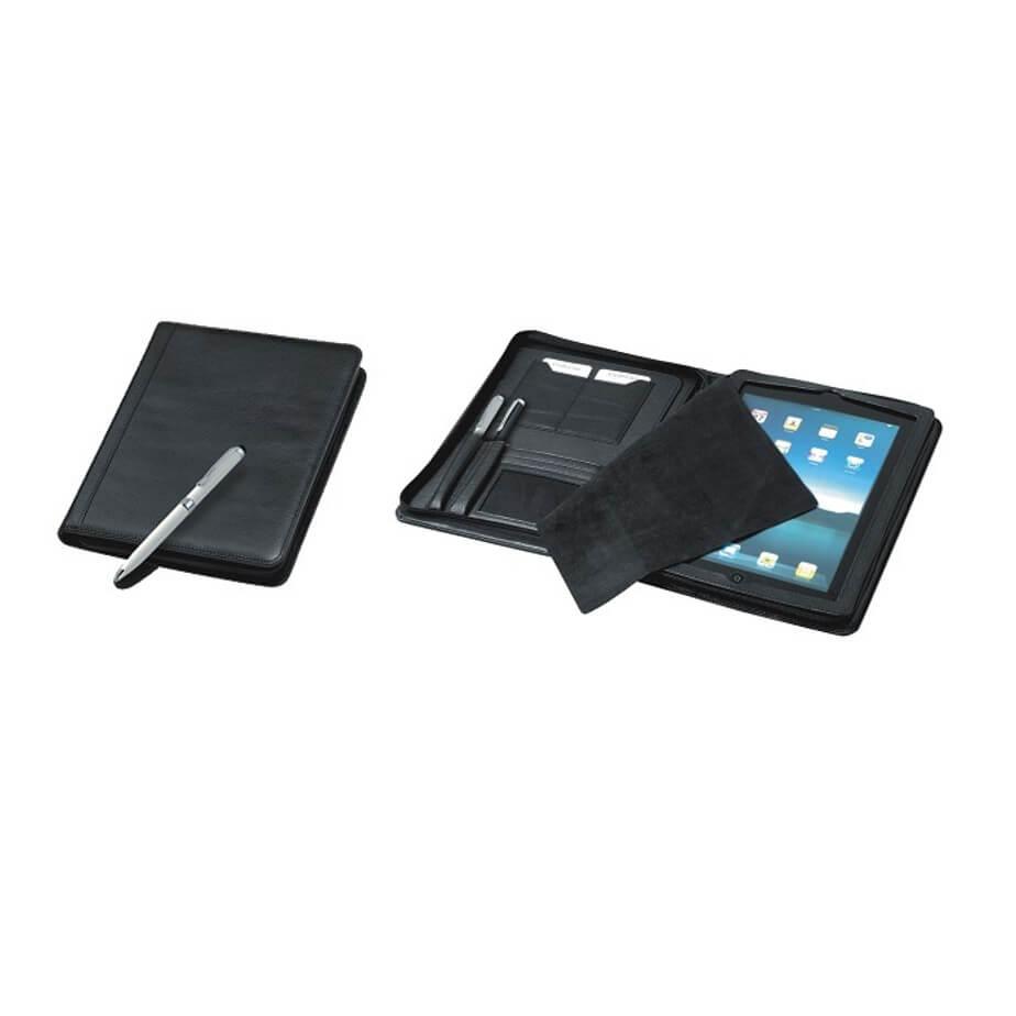 Urban iPad Zipper Folder Available In Black