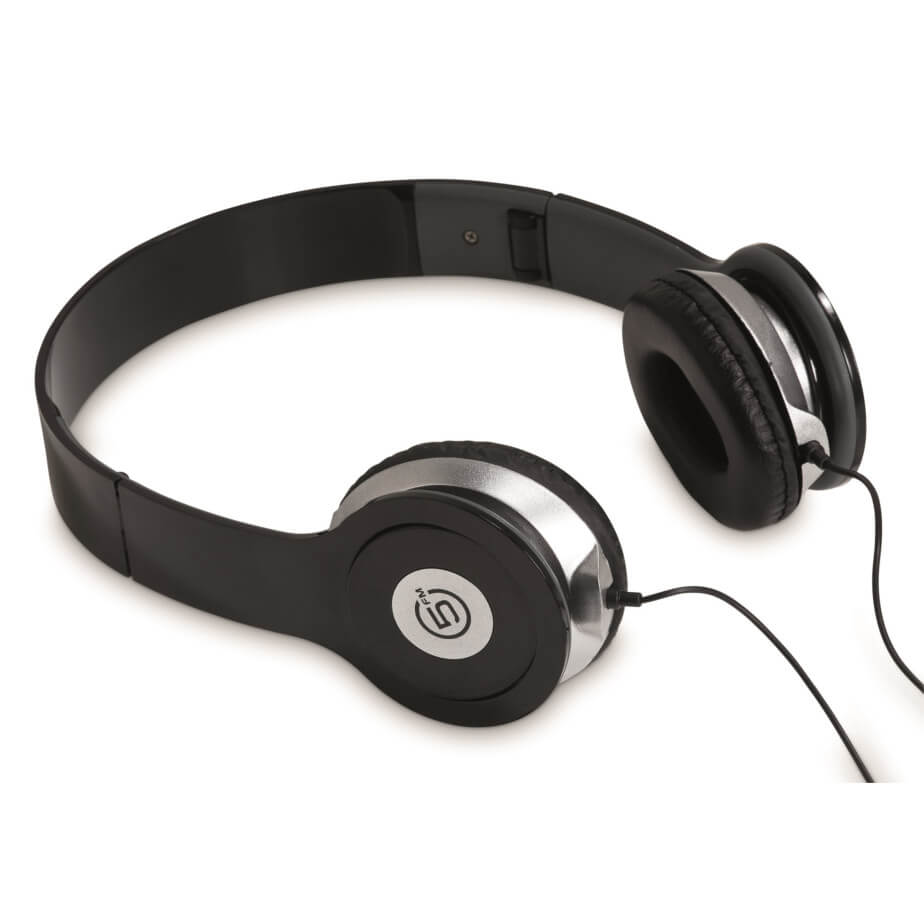 The Black Frequency Headphones Is Made From ABS And PVC. The Headphones Are Compatible Using A 3.5mm Audio Jack.