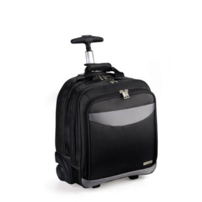 Compact Laptop Trolley Backpack Available In Black