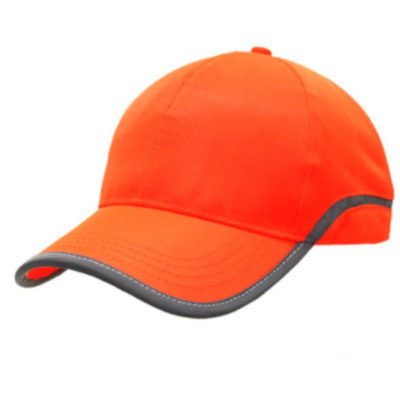 The Shield Cap Is Made From Reflective 100% Polyester. The Cap Features Include A High Visibility Reflective Piping And A Self Fabric Velcro Strap.