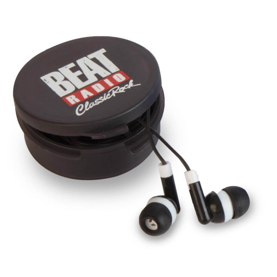 The Black Acoustix Earbuds Is Made From ABS And PVC. The Earbuds Comes In A Plastic Case Having Your Own Unique Logo Customized.
