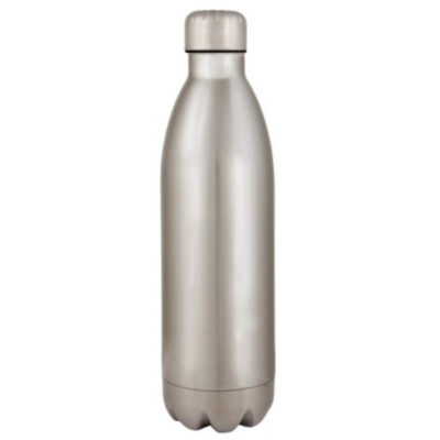 The Silver Stainless Steel 24hr Flask 1L Features An Insulated Lid And Keeps Your Liquid Hot Or Cold For 24 Hours.