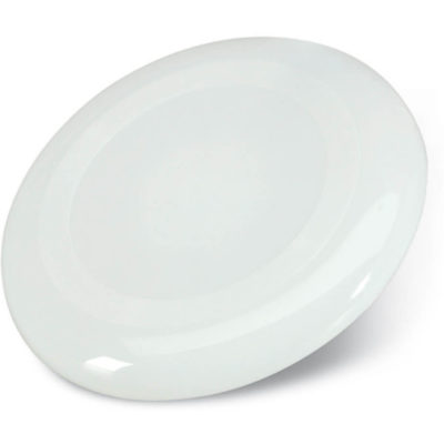 The Sydney Frisbee is a large plain white circular frisbee