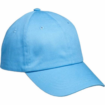 The turquoise Accelerate 6 Panel Cap is made from 100% chino cotton twill with a self fabric velcro strap and embroidered eyelets.