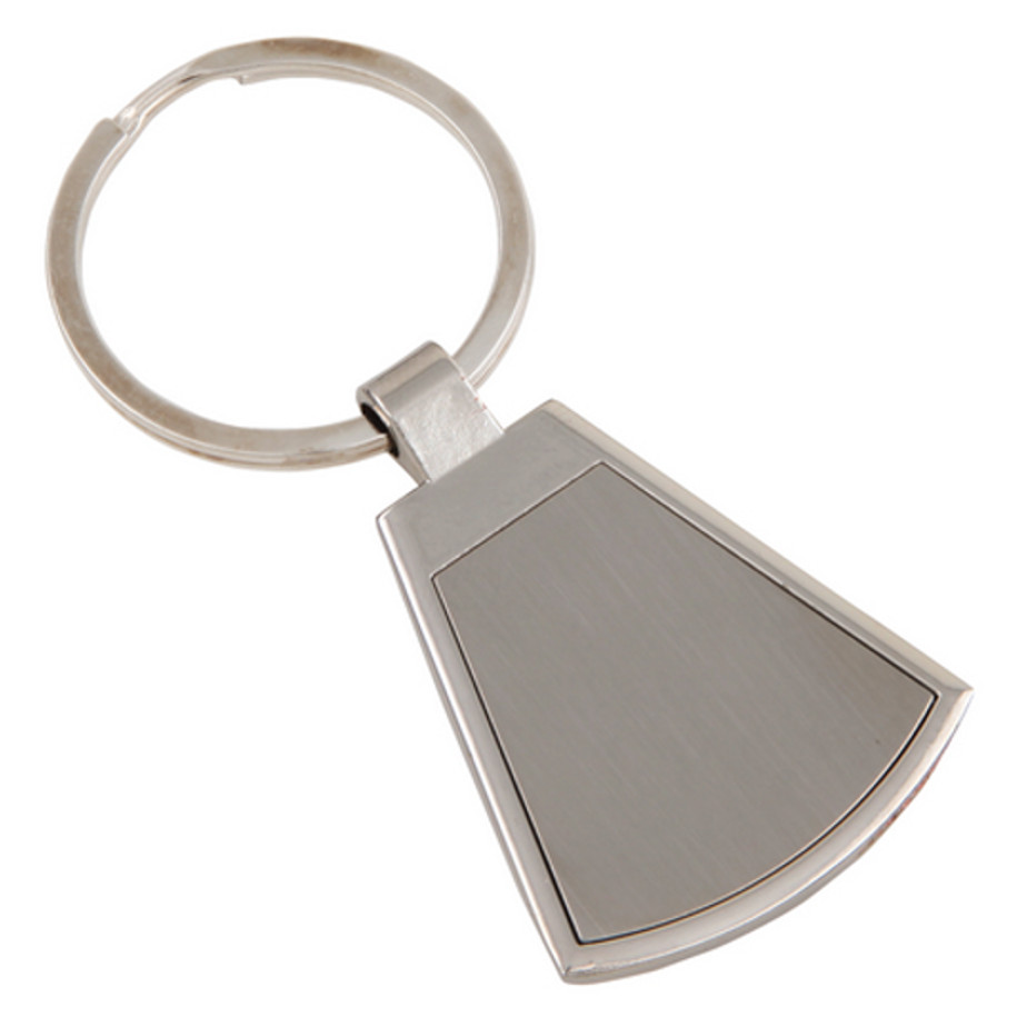 The Silver Budget Keyring Is Made From Metal And Packaged In A Gift Box.