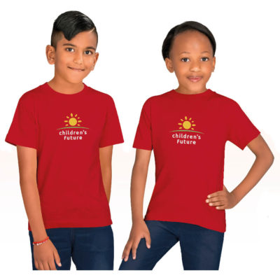 The Kids Promo T-Shirt made from 100% cotton fabric, crew neck. Available in different colours and sizes.