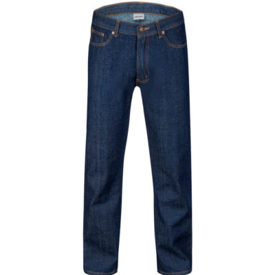 The Mens Denim Jeans Has A Comfortable Feel And Versatile Appeal. The Blue Pants Includes Side Pockets And Back Pockets With Embroidered Detail