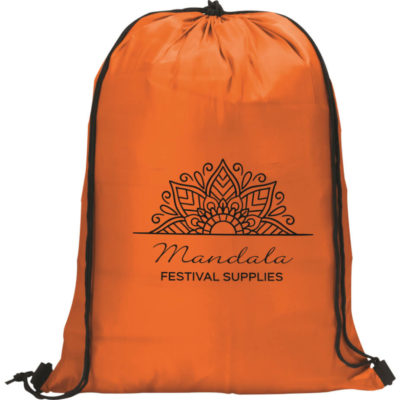 The Daily Drawstring Bag true to its name can be used on the daily to carry your goods on the go.