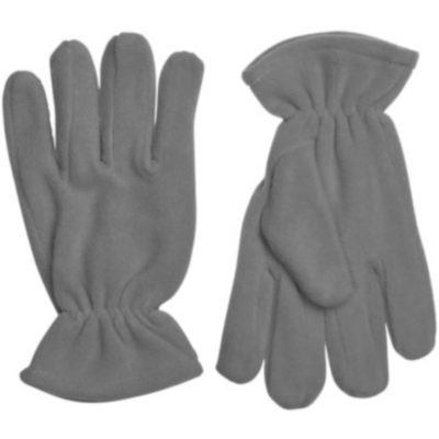 The Blizzard Gloves are wind resistant, polar fleece charcoal gloves. With individually shaped fingers and an elastic wrist closure