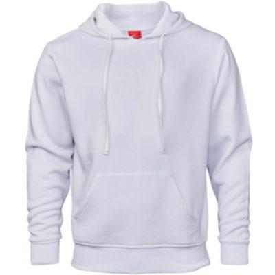 The Base Hoodie Is 65% Polyester And 35% Cotton. Features Include Brushed Fleece Fabric, Ribbed Waist And Cuffs, A Kangaroo Pocket, Shoelace Drawstring And Buttonhole Eyelets