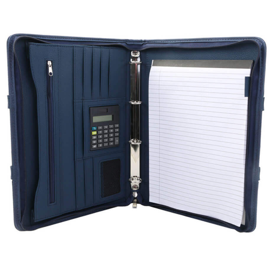 Crescent Ziparound Folder
