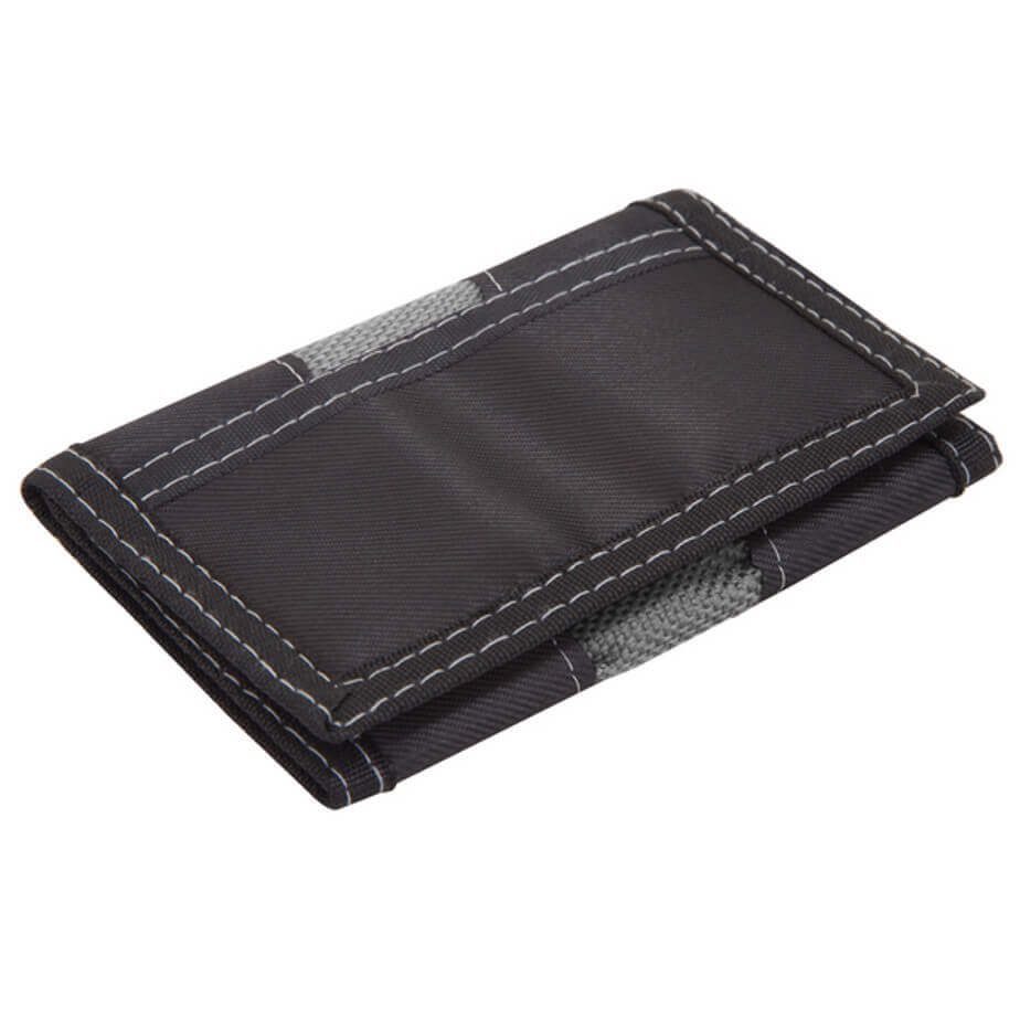 PVC Wallet Available In Black-Grey