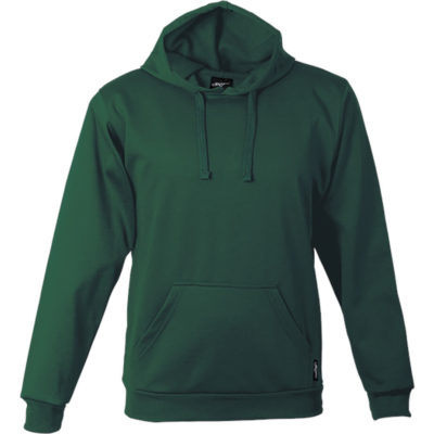 The BRT Performance Hoodie in the colour bottle is made from 260g 100% Polyester brushed sports knit material that has a high quality finish, with a flat tonal drawcord and kangaroo pockets.