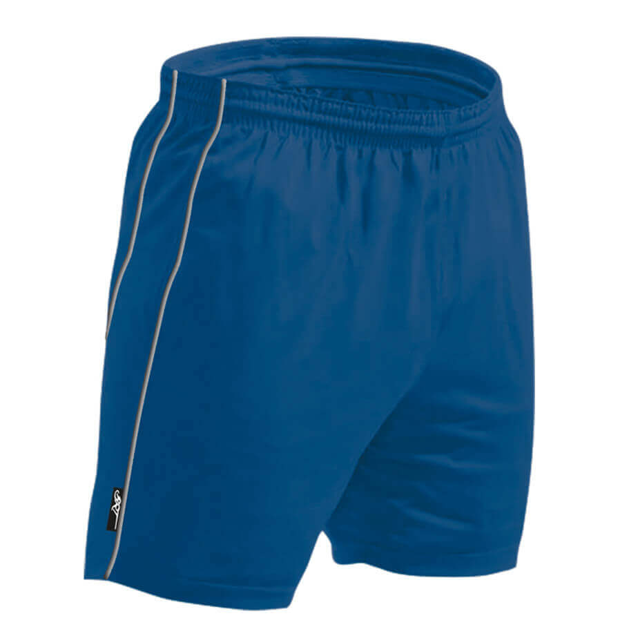 The Royal Blue BRT Reflect Shorts Is Made From 100% Polyester. The Shorts Has An Elasticated Waistband With Draw Cord, Double Vertical Reflective Piping And Side Pockets.