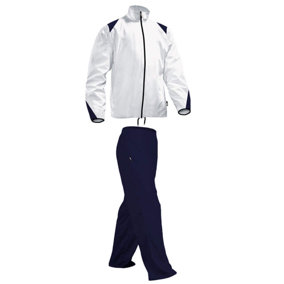 Navy/White Kiddies BRT Econo Is Made From 200g 100% Polyester.