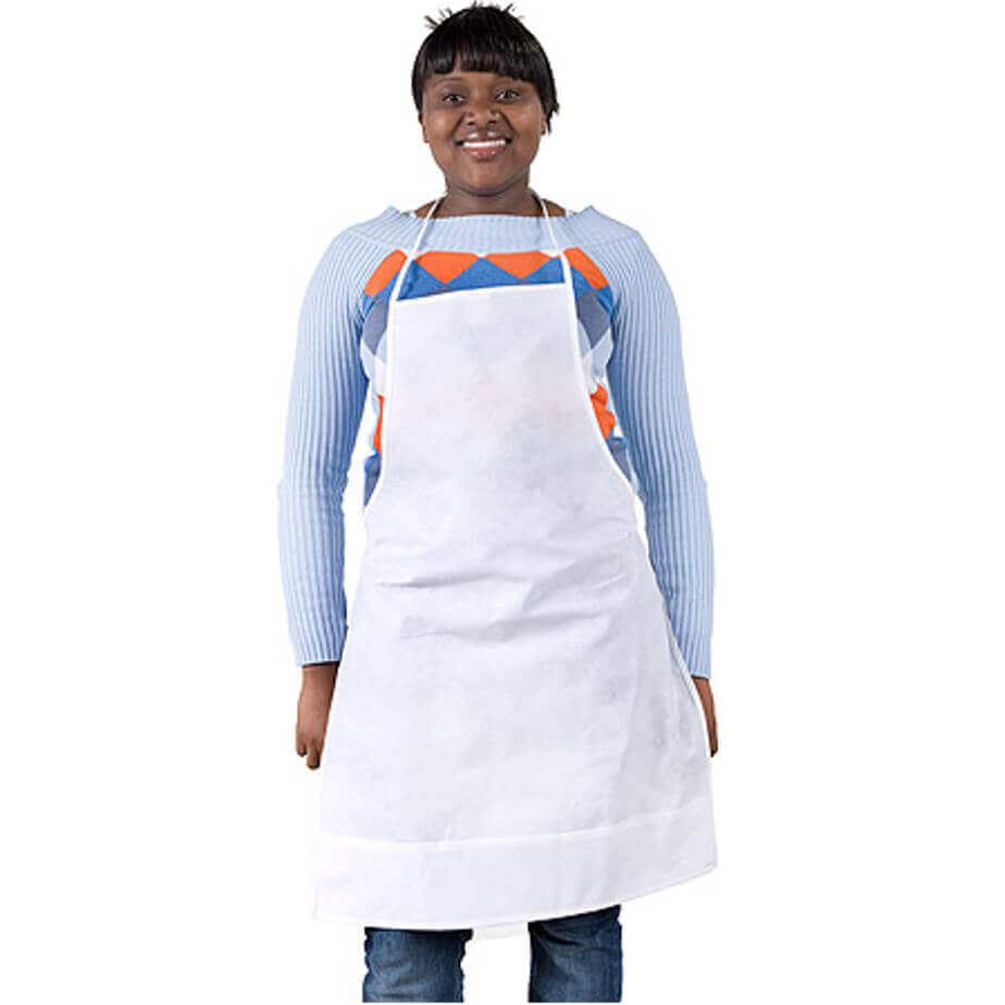 The Apron Is Made Out Of 80g Non Woven.