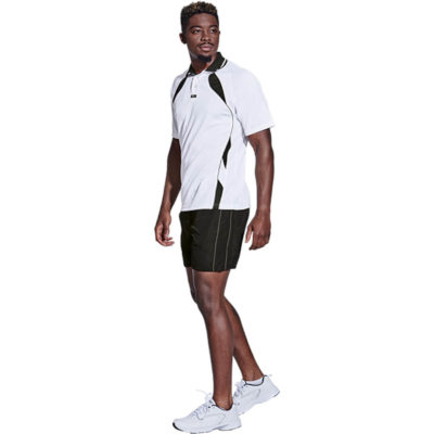 The BRT Reflect Shorts is made from 100g of 100% Polyester micro rip-stop fabric with side pockets. Available in different sizes and colours.