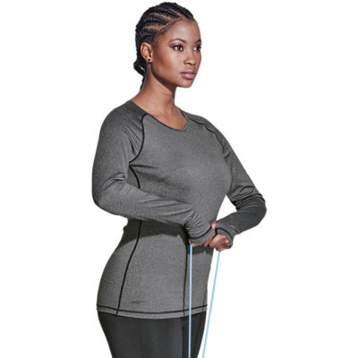 The BRT Ladies Signature Long Sleeve Top is made from 200g of 92/8 polyester spandex. Available in different colours and sizes.