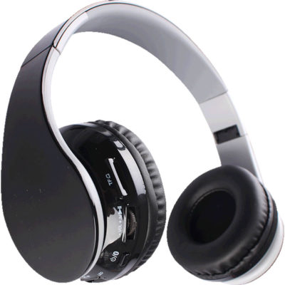The Bluetooth Executive Headphones is made from plastic with an adjustable head band and connects with most Bluetooth devices. In black with a operating range of 10 meters.