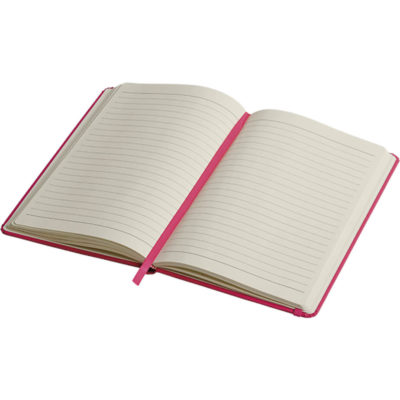 The A6 Luxury PU Notebook Is Designed With A PU Cover With Matching Coloured Elastic Band Closure.