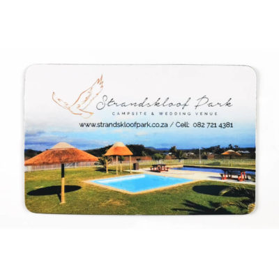 The Business Card Fridge Magnet is a rectangular shaped fridge magnet with a magnetic backing and can be fully branded in radiant colour