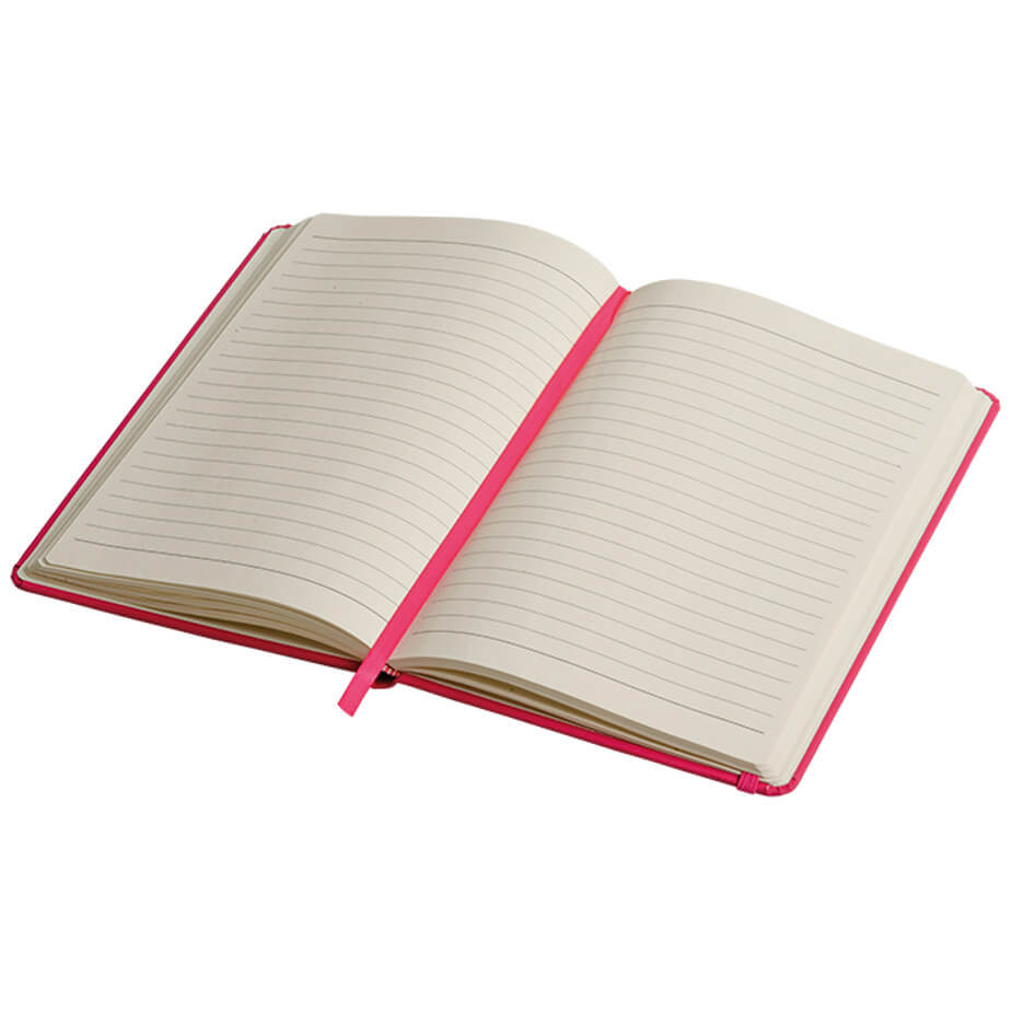 The A5 Luxury PU Notebook Is Designed With PU Cover With Soft-Feel. Features Included. Available In Various Colours.