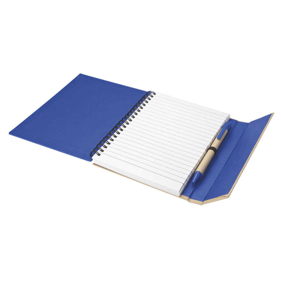 The Recycled Notebook with Magnetic Flap Is Made Of 30% Recycled Paper. Featured Included. Available In 4 Different Colours.