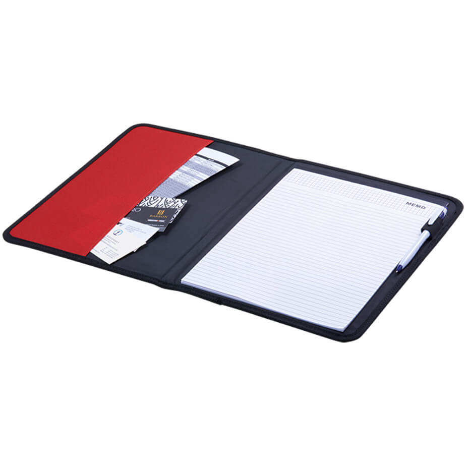 The 600D A4 Folder with Inner Pocket Is Made From 600D Polyester With PU Accents. Includes Inner Pocket. Available In Various Colours.