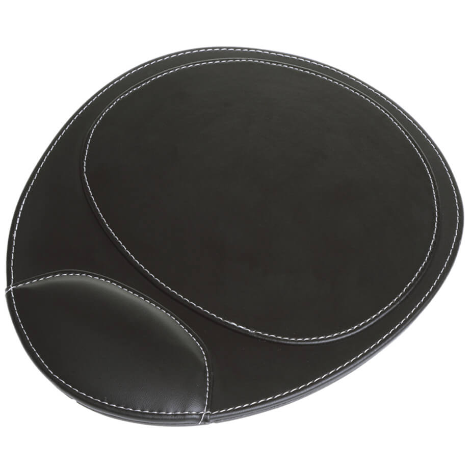 The Two Tone Mouse Pad Is A 2-Tone Design. Features Include Padded Wrist Rest. Available In Various Colours