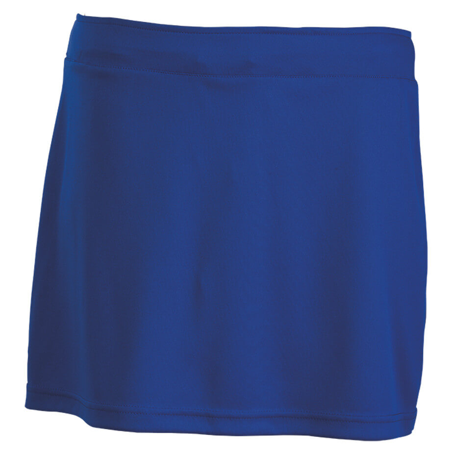 The Royal Blue BRT Motion Skirt Is Made From 100% Polyester. The Skirt Features Elasticated Waistband With Flat Draw Cord, Adjustable Draw Cord And A Cover Seam Hem.