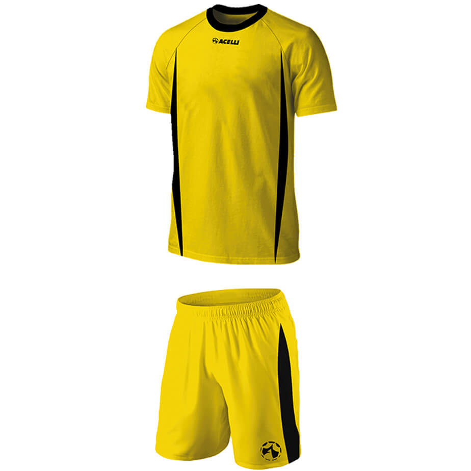 The Gold/Black BRT Blade Soccer Single Set Is Made From 100% Poluyester With X Superior Quick Dry Moisture Management Fabric.
