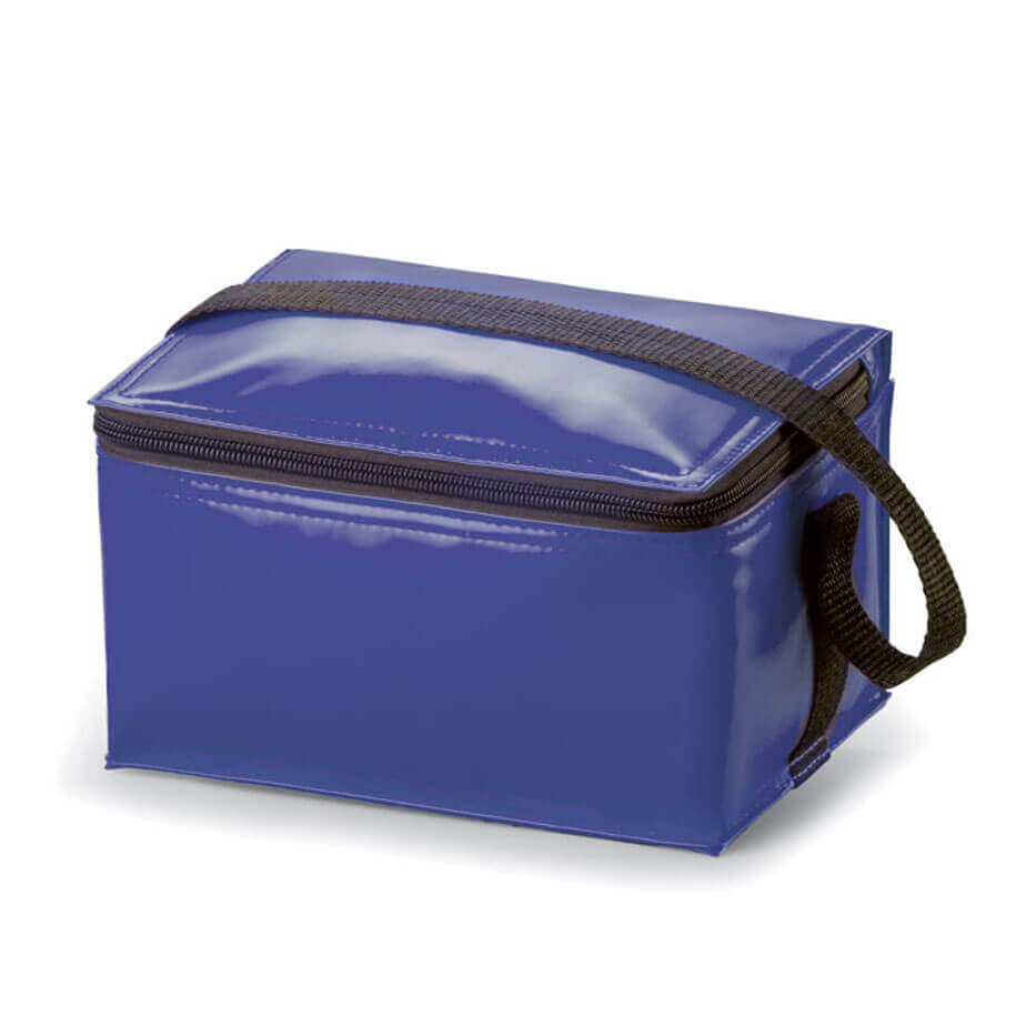 The Navy Keep Cool Lunch Bag Is Made From PU With White Lining. The Lunch Bag Is Great For Picnics, School Or Work.
