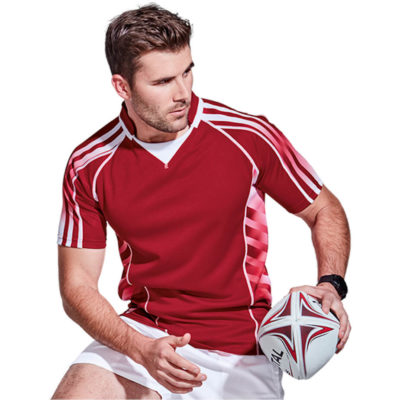 The BRT Tao Rugby Jersey is made from 200g of 100% polyester with a signature v-shaped collar. Available in different colours and sizes.