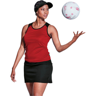 The BRT Econo Single Set Top & Skirt is made from 120g of 100% Polyester, Lightweight fabric with a moisture management finish.