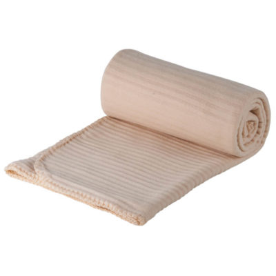 The sand All Occasion Blanket is made from 180g polyester. The blanket features include anti-pilling fleece, trimmed edge and a ribbed texture.