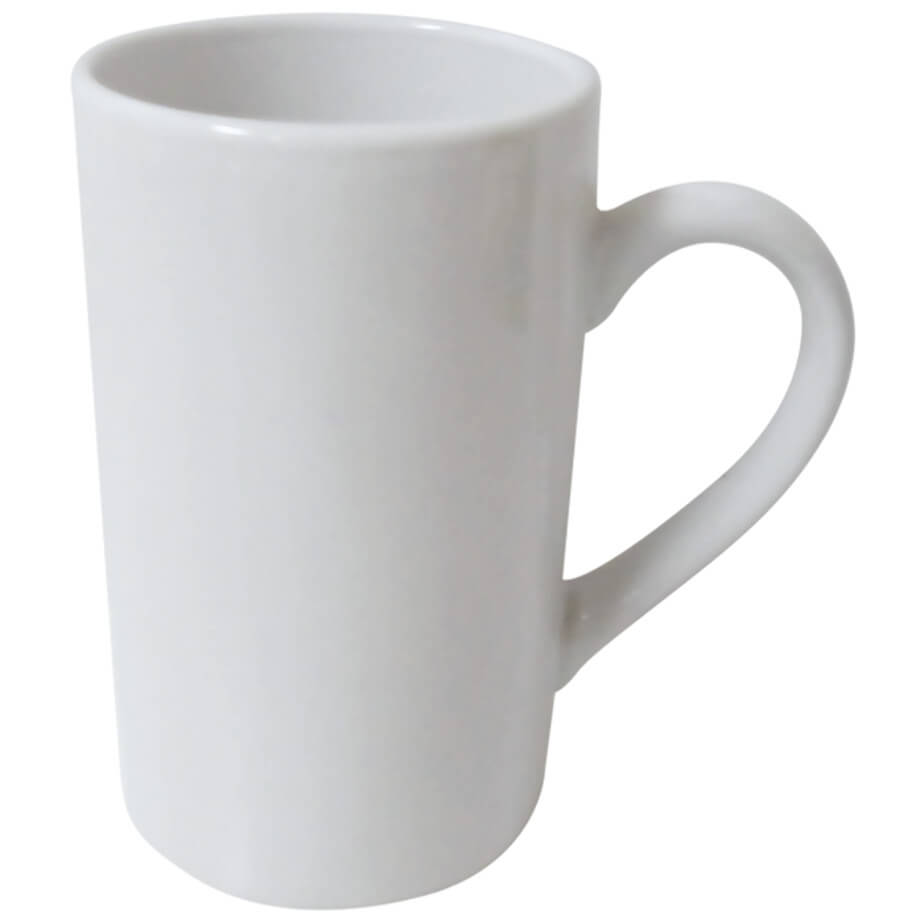 354ml Everyday Ceramic Mug Features A Ceramic Mug With A Matching Colour Handle.