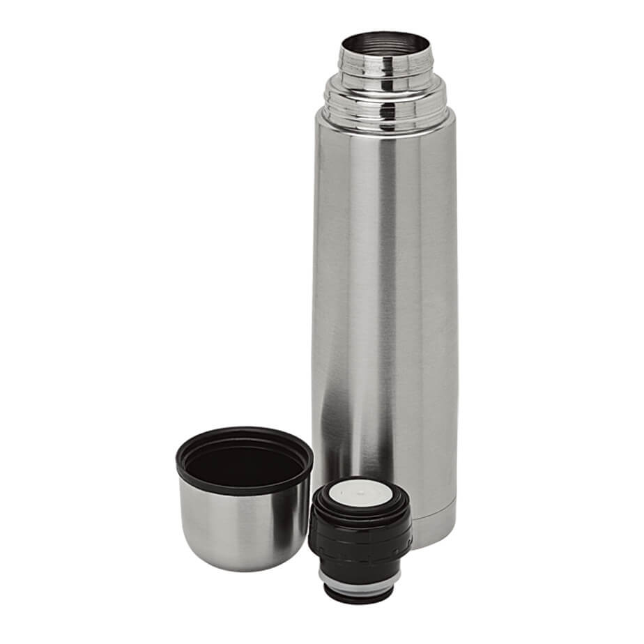 750ml Vacuum Flask Features A Stainless Steel Liner With A Vacuum Construction.