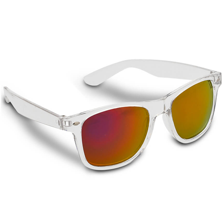 The Pink Jbay Sunglasses Is Made From Plastic.The Sunglasses Has A Clear Frame With UV400(Cat 3) Protection Lenses.