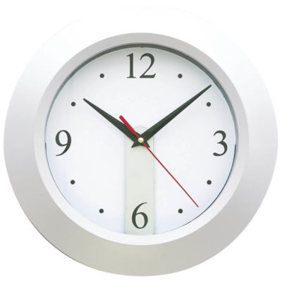 Hanging Wall Clock Features Includes A Adjustable Dial, A Solid Body Colour And Removable Paper Clock Face.