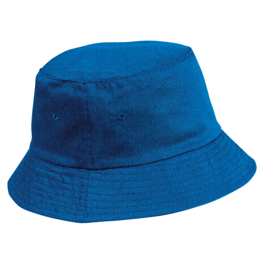 The Royal Floppy Poly Cotton Hat Is Made Using Poly Cotton Twill Fabric. The Fabric Includes 4 Needle Stitched Sweatband.