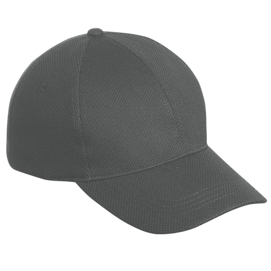 The Grey 6 Panel Podium Cap Features A Structured 6 Panel Cap, Pre Curved Peak, Velcro Closure And A Low Profile.
