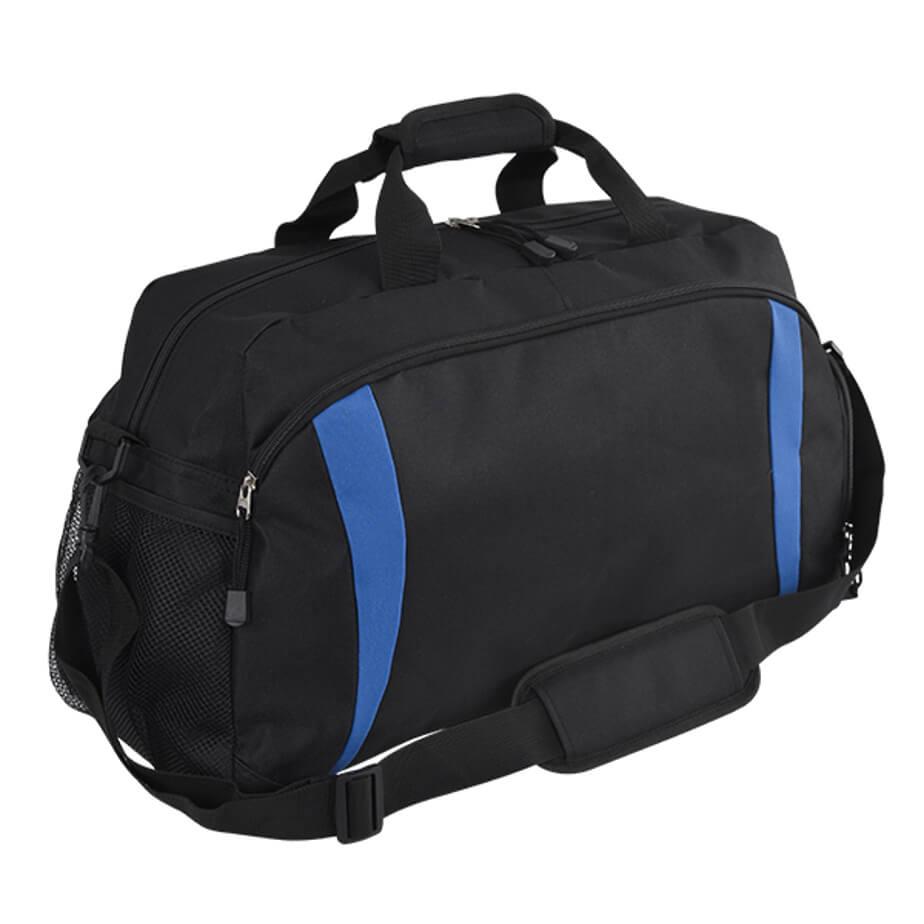 The Royal Atlantas Tog Bag Features A Side Shoe Zip Compartment, Single Side Mesh Pocket, Front Pocket With Zip Closure And A Main Compartment With A Zip Closure.