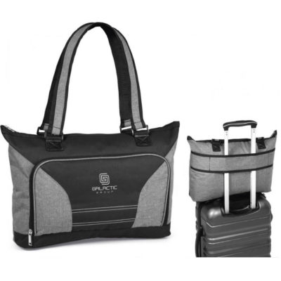 The Saturn Ladies Laptop Bag Features A Front Zipper Compartment With An Organisational Panel. It Is Perfect For Any Business lady!