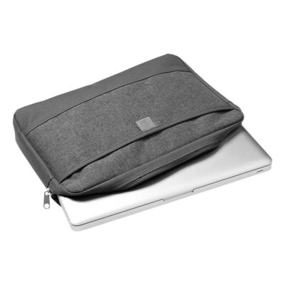 "Melange Poly Canvas Tablet Case Is Made Using 600D Poly Canvas. The Features Include A 14"" Laptop Bag And A Front Pocket."